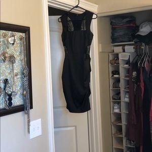Short Black Cocktail Dress.